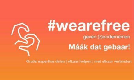 *CORONA DOSSIER* Nieuw initiatief Care Cosmetics: WE ARE FREE geven (z)ondernemen